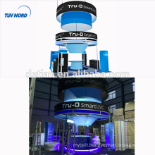 Detian Offer expo stands custom trade show exhibits aluminum profile exhibition booth