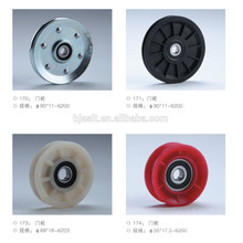 Door roller/escalator parts