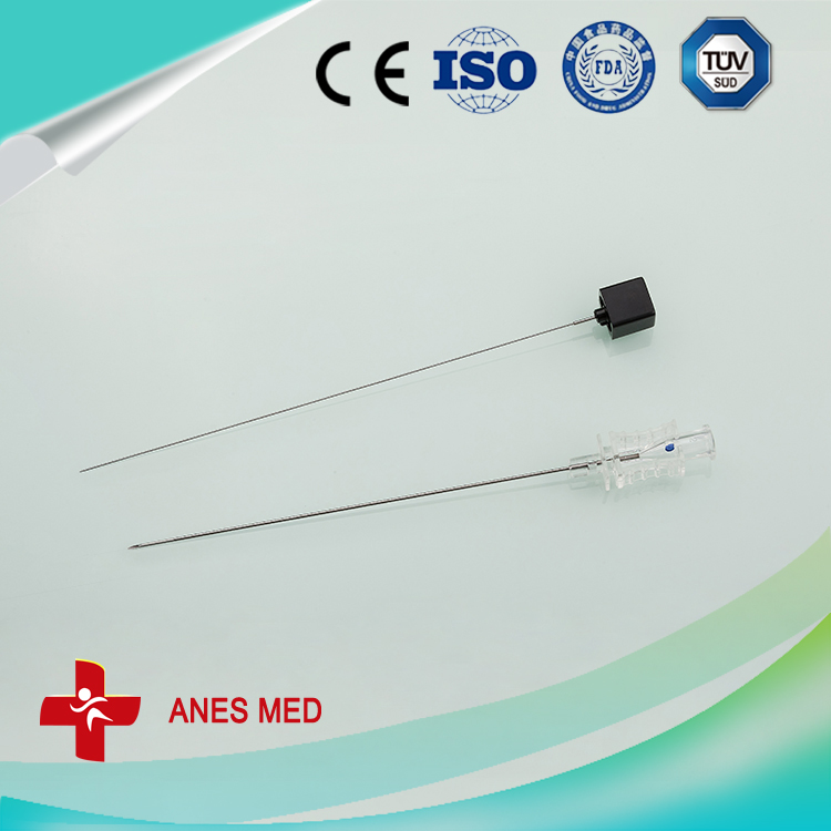 Disposable spinal needle types