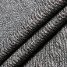 Чёрный вискозный хлопок Полиэстер Спандекс Ткань для джинсов