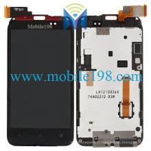 pour HTC Desire Vc T328d LCD écran et numériseur tactile avec cadre