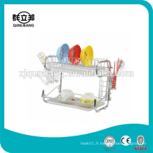 9-Shape of Metal Plate Rack / Compact Dish Rack