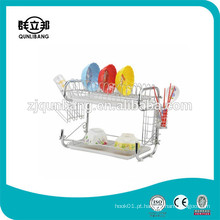 9-Shape of Metal Plate Rack / Compact Dish Rack
