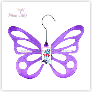 PP Plastic Butterfly-Shaped Clothes Hanger (29.5*24cm)