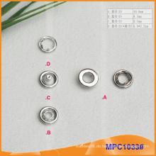 Prong Snap Button mit Metall Cap, Qualität für Kleidungsstück