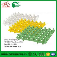 Poultry farm egg tray plastic, tray for chicken egg, plastic egg packaging