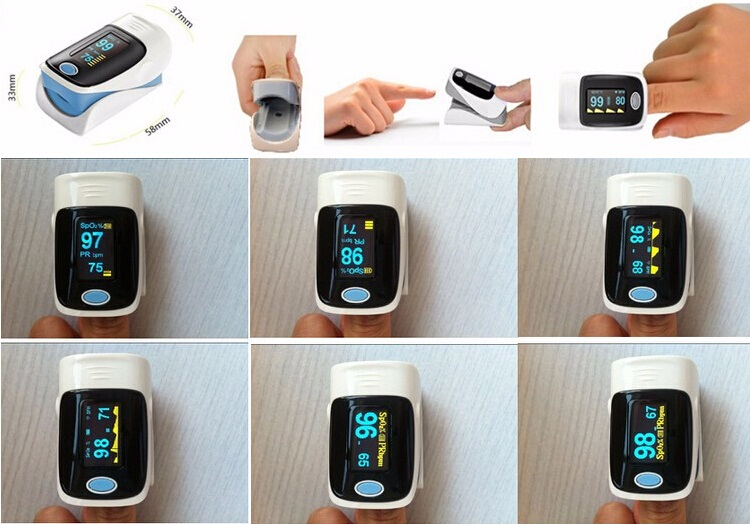 finger oximeter with CE