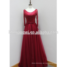 Lady Cocktail Kleider tiefes V langes Maxi neues Design Abendkleid