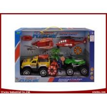 Conjuntos do jogo da equipe de salvamento da polícia da praia dos brinquedos de DIY