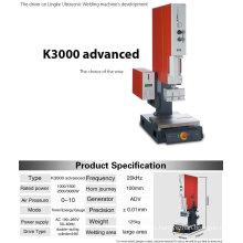 2000 / 3000W de alta calidad de la máquina de soldadura de plástico por ultrasonidos