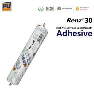Sellador de alta resistencia Renz30 de la PU para Autoglass