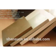 Plat moussant de nouveau produit WPC / conseil pour faire des meubles / panneau stratifié de meubles