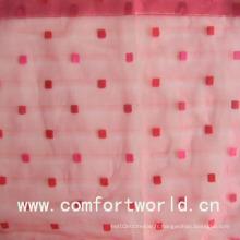 Tissu de rideau de voile simple (SADT00032)