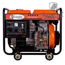 5kVA Generador diesel de arranque eléctrico abierto profesional