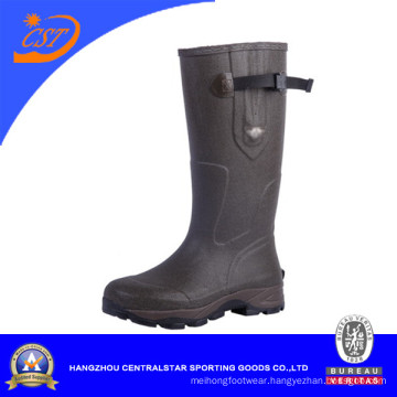 Side Buckle New Soles Wellington Boots