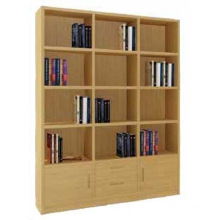 Bamboo Book Shelf Rack Office Shelf Bookcase Storage