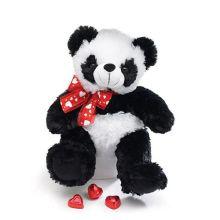 plush holiday gift panda