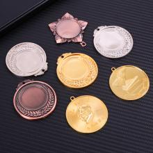 médaille en métal pour la course