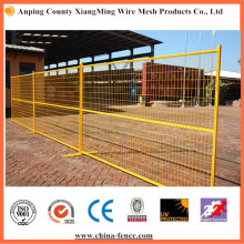 PVC Painted Low Carbon Steel Temporary Wire Mesh Fencing