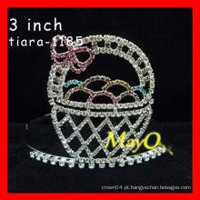 Colored coroa de representação do Dia das Bruxas para venda, tiara feita sob encomenda bonito feito, coroa da boneca