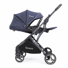 Carrinho de bebê removível carrinho de bebê carrinhos de bebê dobráveis facilmente com almofada quente