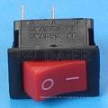 2-poliger Mini-Wippschalter