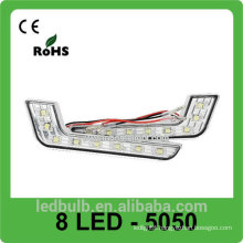 Hot sale DRL LED daytime running light, 8 LED 5050 DRL