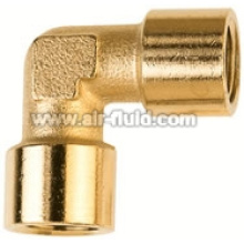 BSPP Female/Female Elbow Nickel Plated Brass Fittings