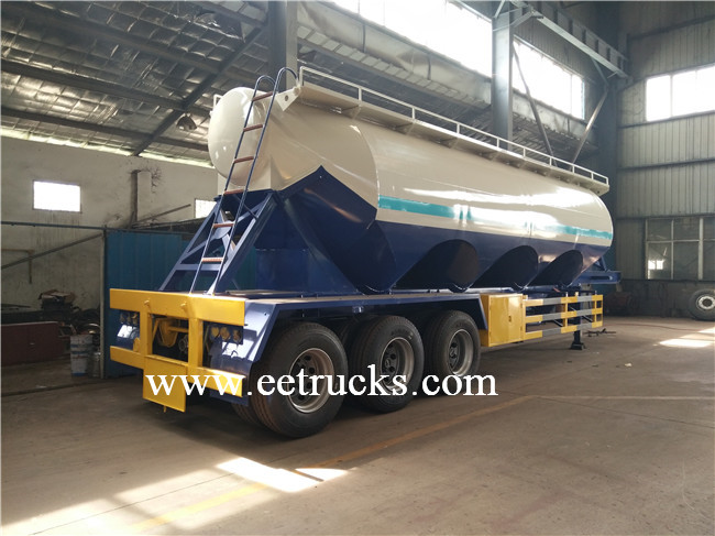 35 CBM Tri-axle Bulk Cement Trailers
