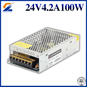24V 4.2A 100W Transforer voor LED Strip