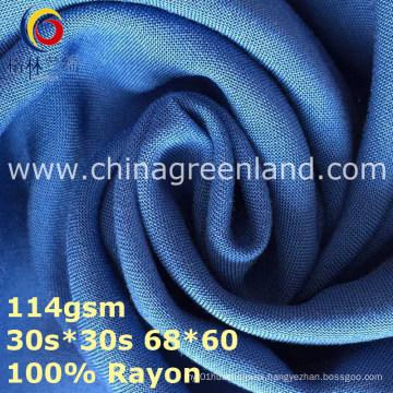 100%Rayon Plain Woven Dyeing Fabric for Textile Garment (GLLML369)