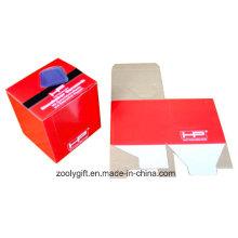 Caixas de embalagem dobráveis de papel ondulado de impressão de logotipo personalizado
