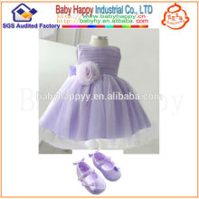 Promotion Latest Pure-hand 2014 new design fashion baby dress Dropship