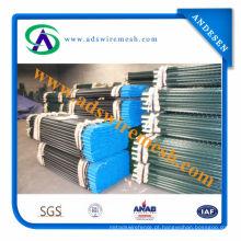 Poste de vedação de metal agrícola / poste em T com tachas