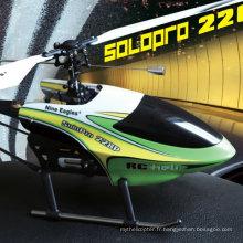 Neuf Eagles Solo Pro 228P 4CH Un hélicoptère à propulsion simple RC