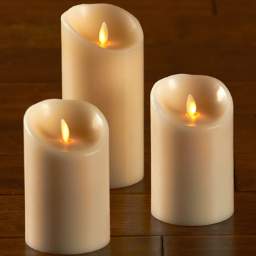 lvory flamless led luminara candle