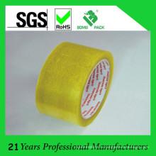 Ясная клейкая лента bopp для запечатывания коробки