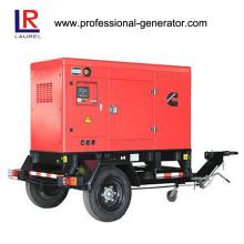 500kw Mobile Soundproof Diesel Generator