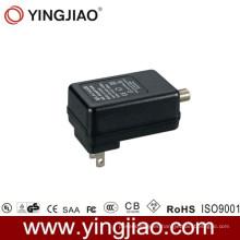 Adaptador de corriente continua de 18 vatios para CATV