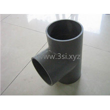Tee de PVC Sch40 redondo accesorios de tuberías plásticas