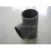 Tee do PVC Sch40 ronda os encaixes de tubulação plástica