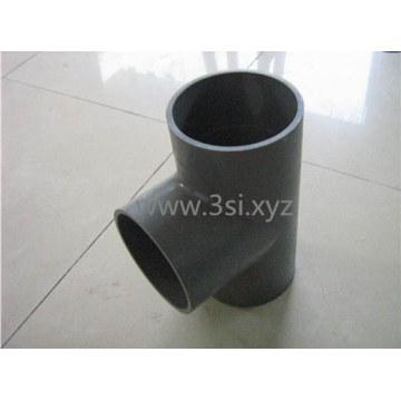 Tee de PVC plástico / igual Tee para accesorios de tubería de PVC