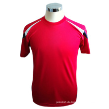 Mens 100% Microfaser Polyester T-Shirt