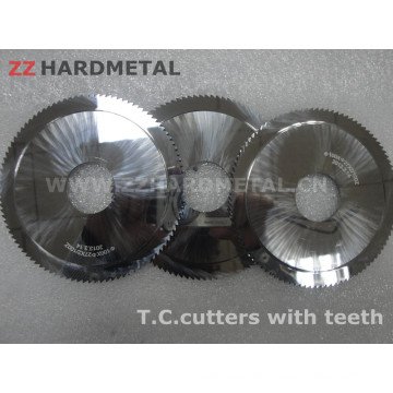 Tungsten Carbide Cutters with Teeth