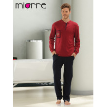 Miorre Men's Sleepwear Pajamas Set %100 Cotton