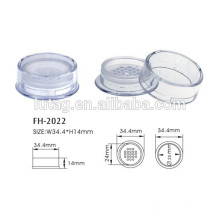 Cosmetic Compact Loose Powder Case