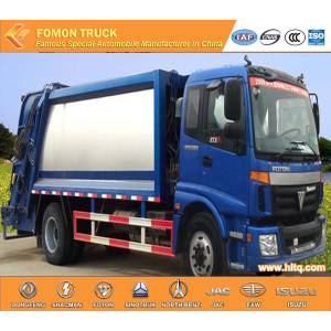 FOTON 4X2 compressing garbage truck