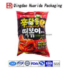 Sac de nourriture rapide d'emballage en plastique adapté aux besoins du client