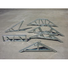 Leichte Stahldachbinder und Bodenbalken