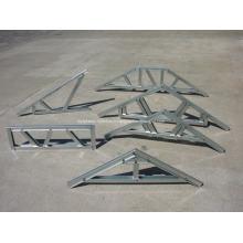 Solive et ferme de toit en acier de calibre léger
